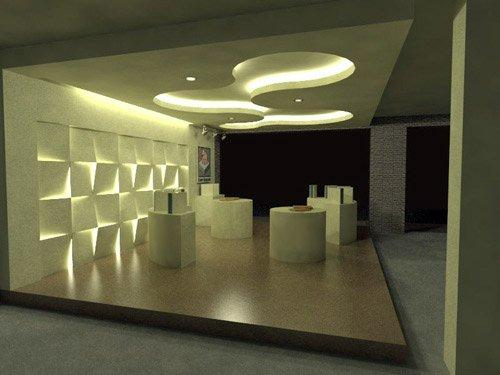 Ceiling design and wall decor