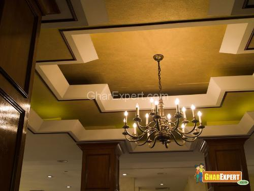 Ceiling gharexpert for Gips decor ceiling