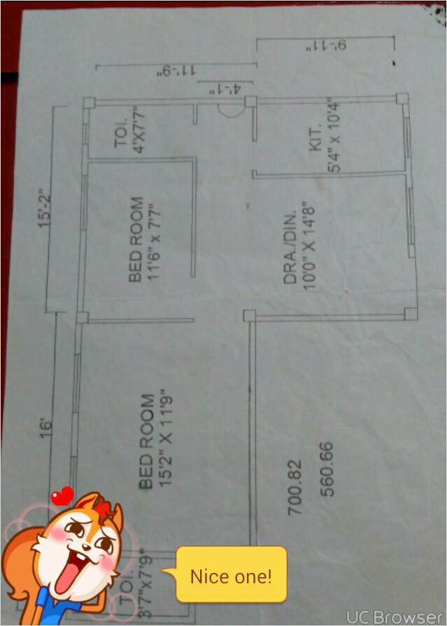 Ground Floor Plan of flat