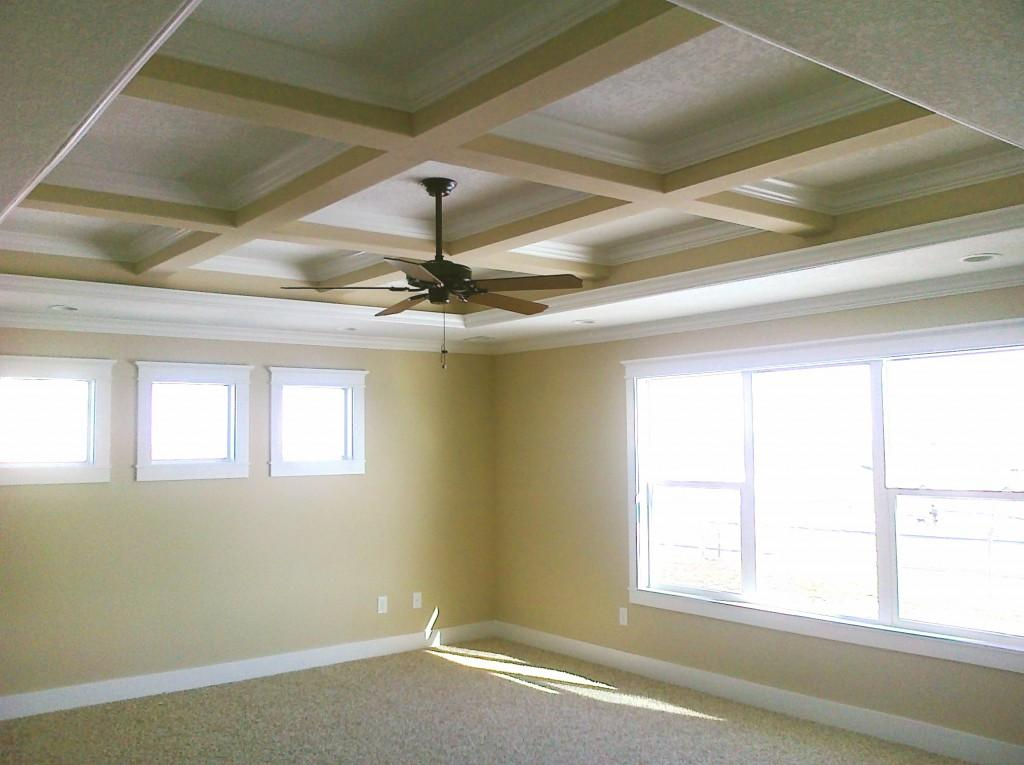 Coffered ceiling gharexpert for Coffered ceiling styles