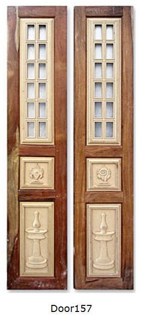 Pooja Room Door Designs With Bells: GharExpert