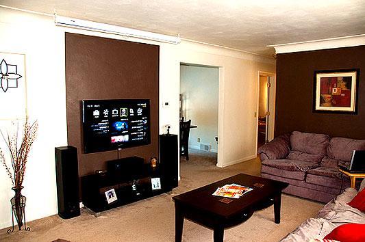 modern tv unit design in a liv....