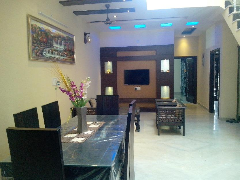Living Room design with Dining....