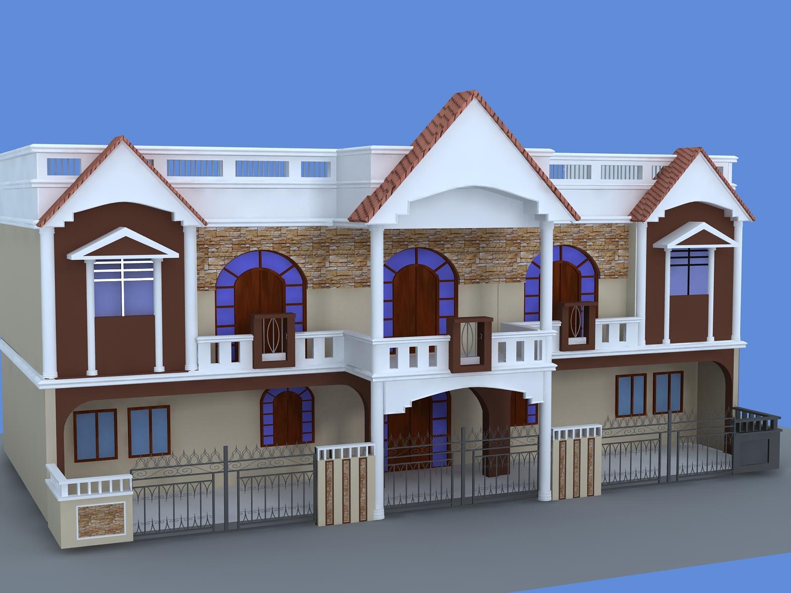 house elevation by neeraj beot....