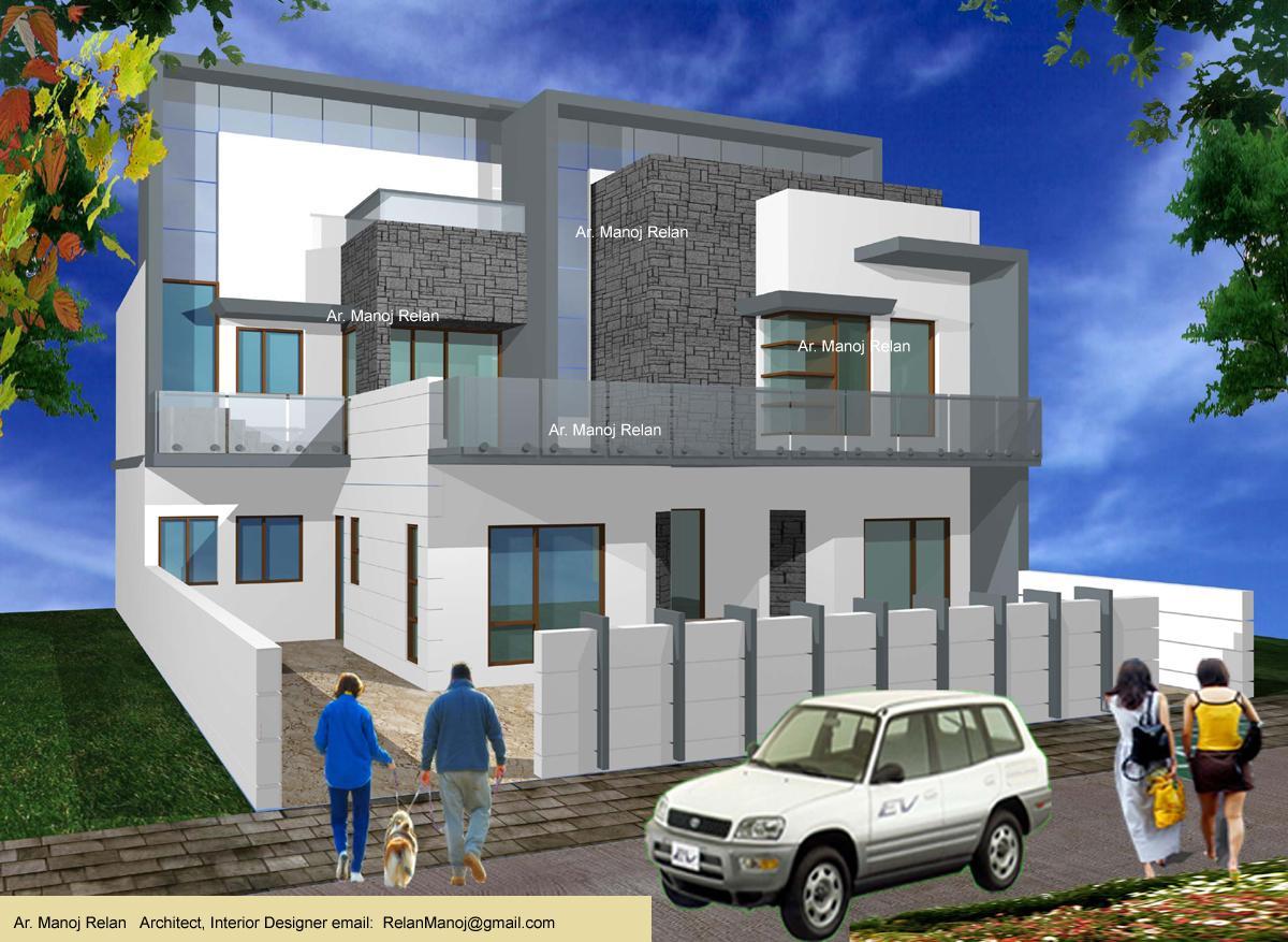Exterior Elevation 3-D concept