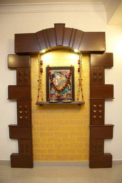Pooja cabinet gharexpert - Pooja room door designs in kerala ...