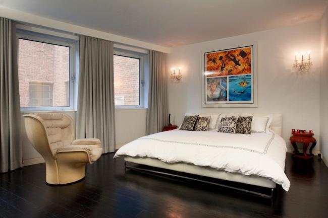 Master Bedroom of Lo-Scher Lof....