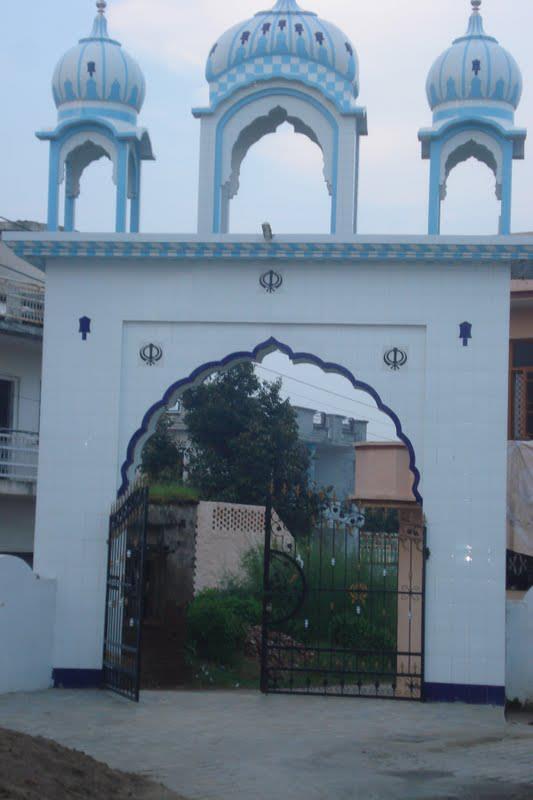 mirpurjattan Entrance Gate