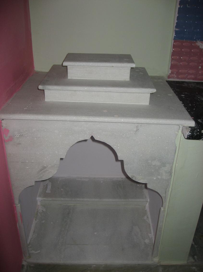 small marble pooja