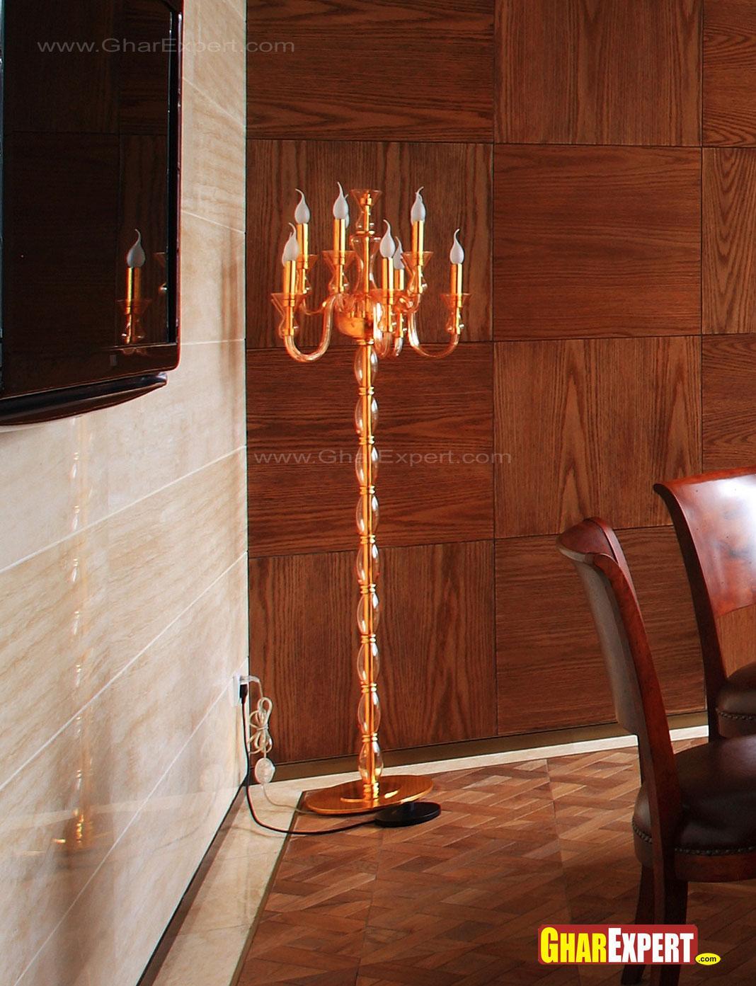 Corner candle lighting lamp fo....