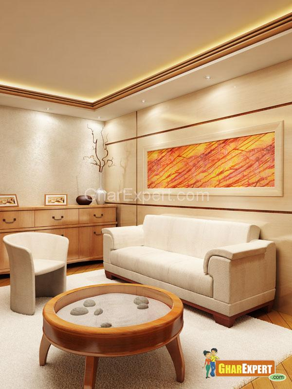 Soothing Drawing Room Lights