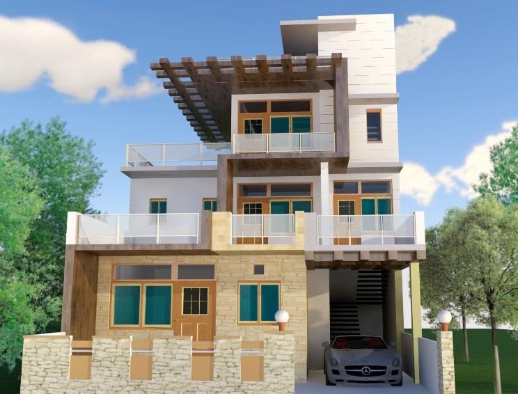 190 sy yard villa