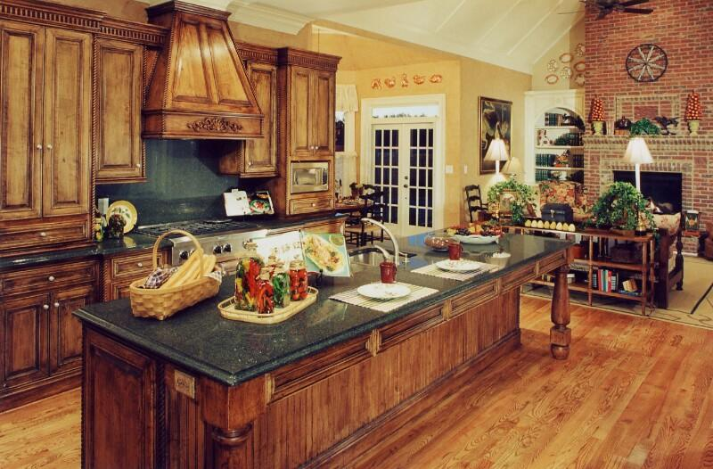 Rustic style kitchen  GharExpert