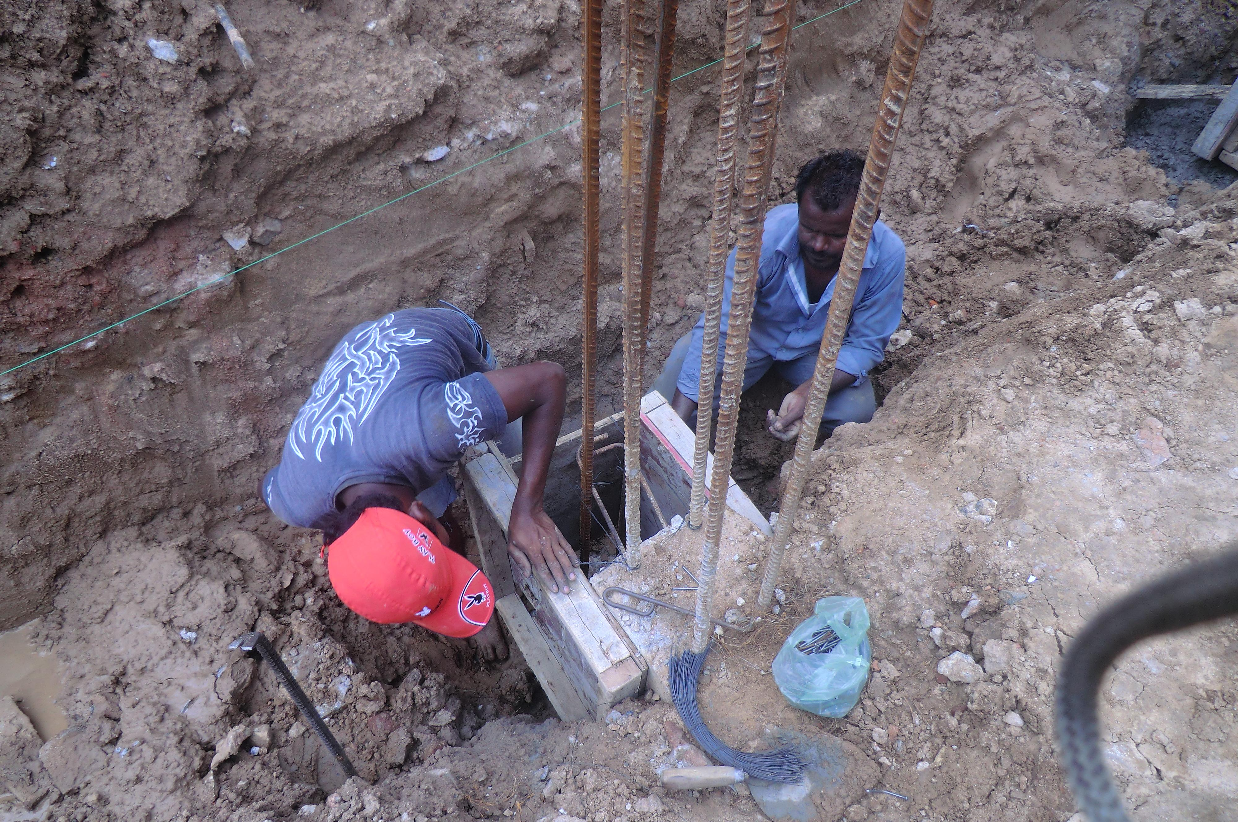 Rebar fixing/grouting for exte....