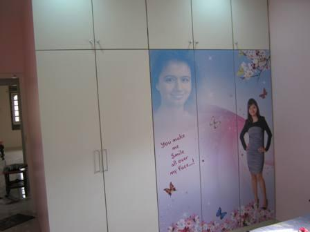 Residential Interior wardrobe ....