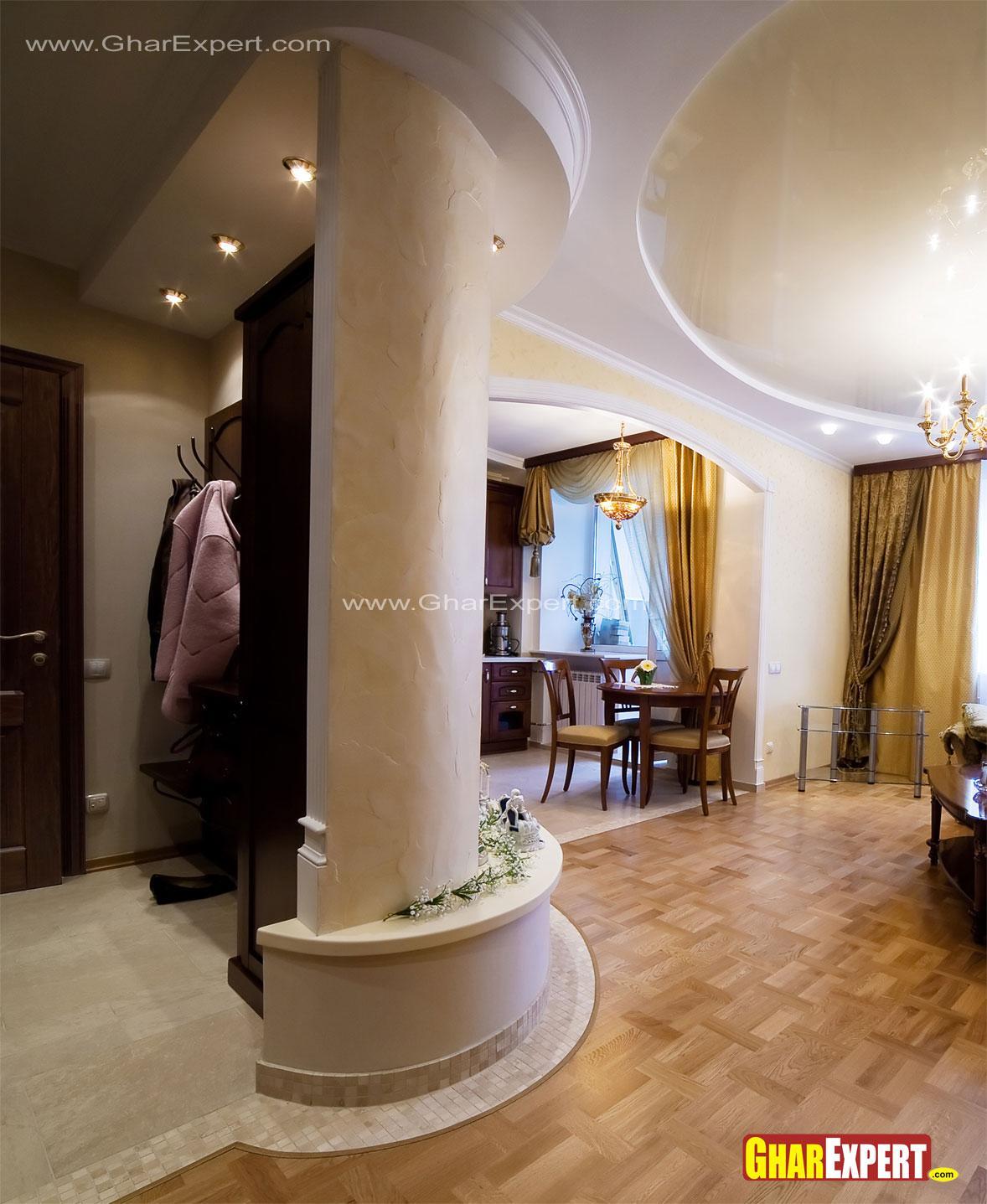 Pillar Decoration In Living Room How To Hide Types Of: Decorative Pillar Design