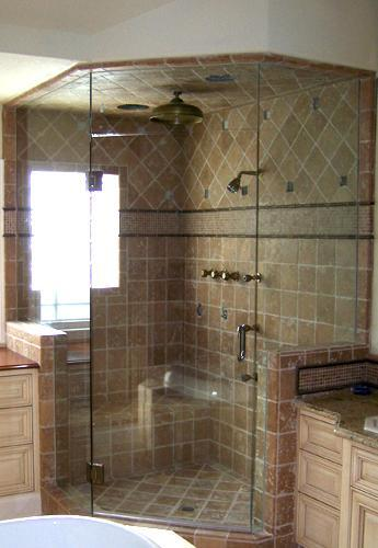 Wall Tile In Corner Shower Enclosure Gharexpert