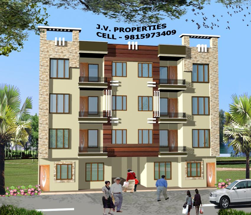 4 Storey Home Elevation Design Gharexpert