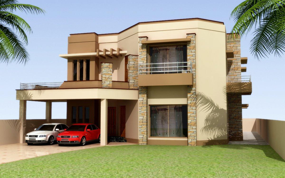 Contemporary house design 3d e....