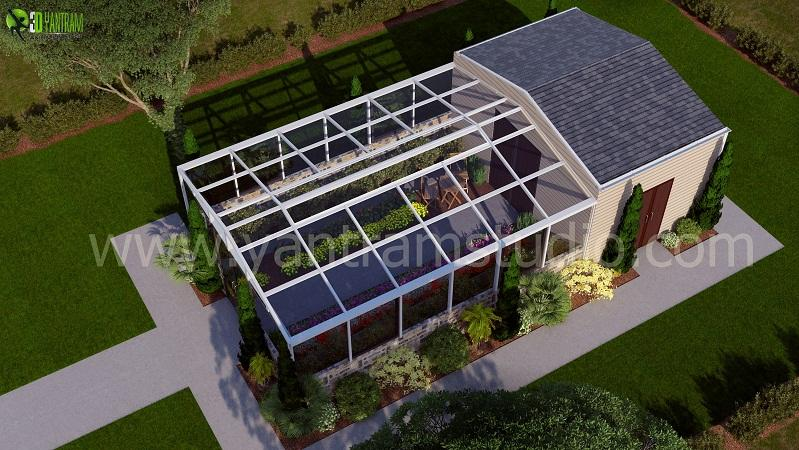 3D Architectural Green House D....