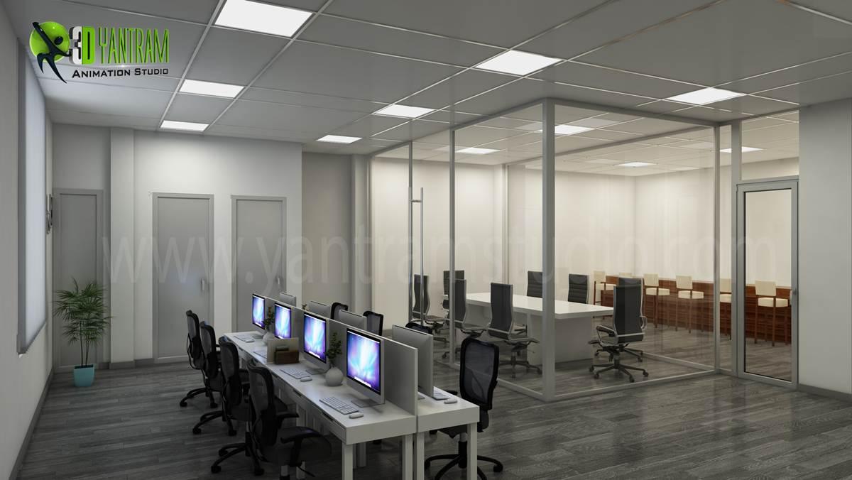 3D Interior CGI Design of Comm....