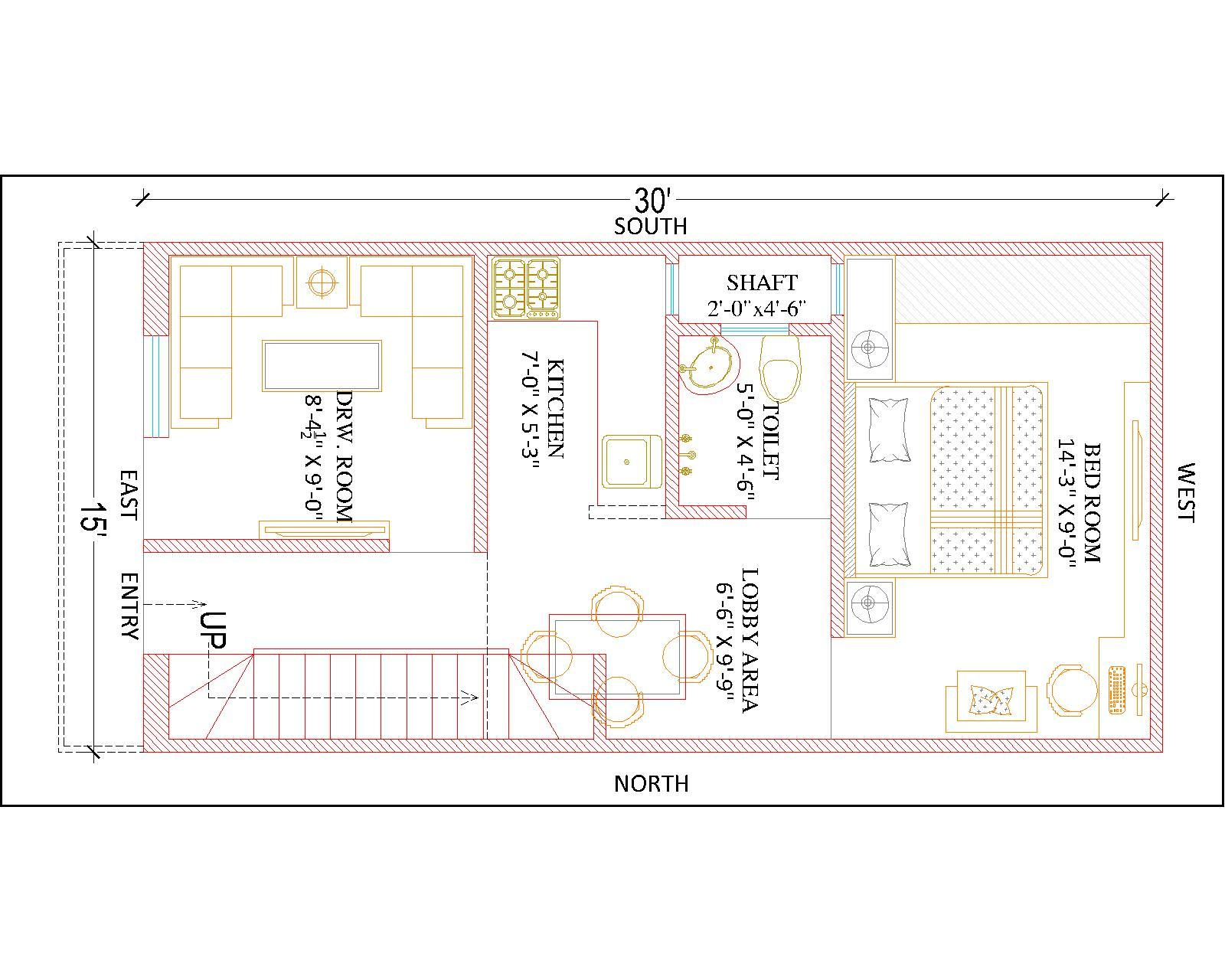 15 X 30 House Plans Pictures To Pin On Pinterest Pinsdaddy