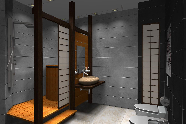 Japan Style Bathroom