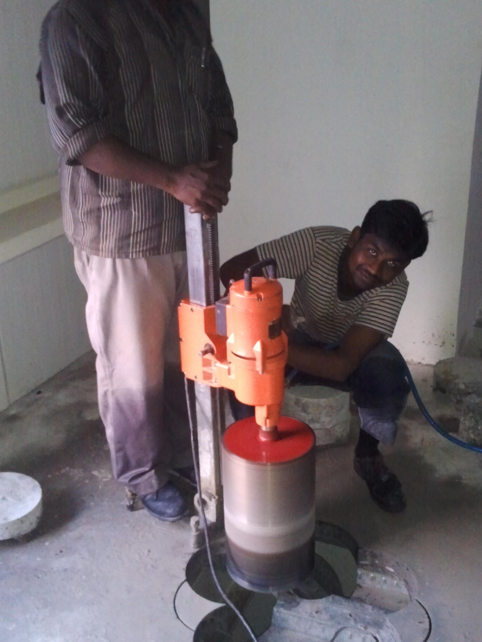 Rcc concrete core cutting/dril....