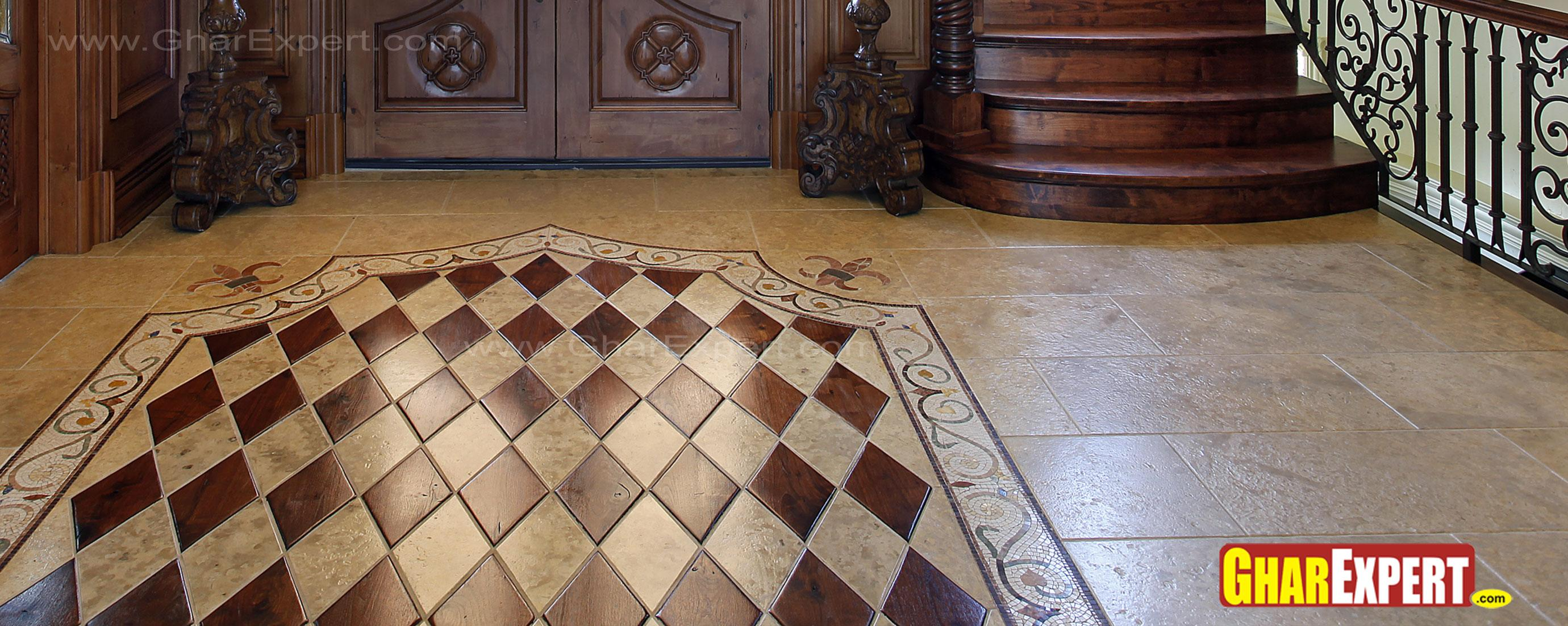 Marble floor pattern for lobby....