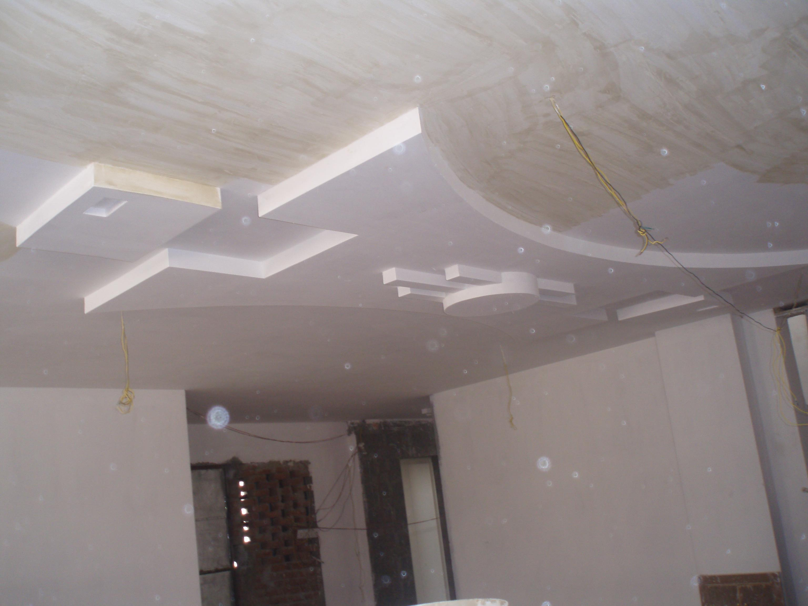 False ceiling photos for living room modern diy art designs for P o p indian home designs
