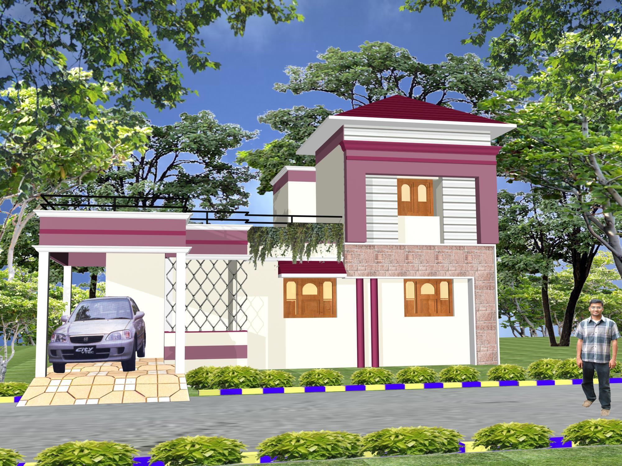 Gharexpert Front Elevation : Gharexpert joy studio design gallery photo