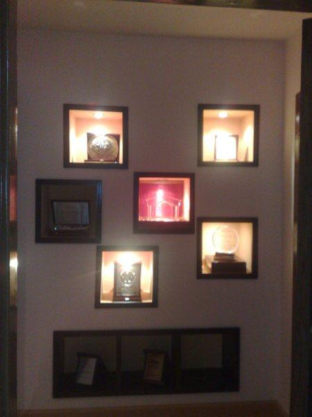 wall niches alcoves with light - Wall Niches Designs