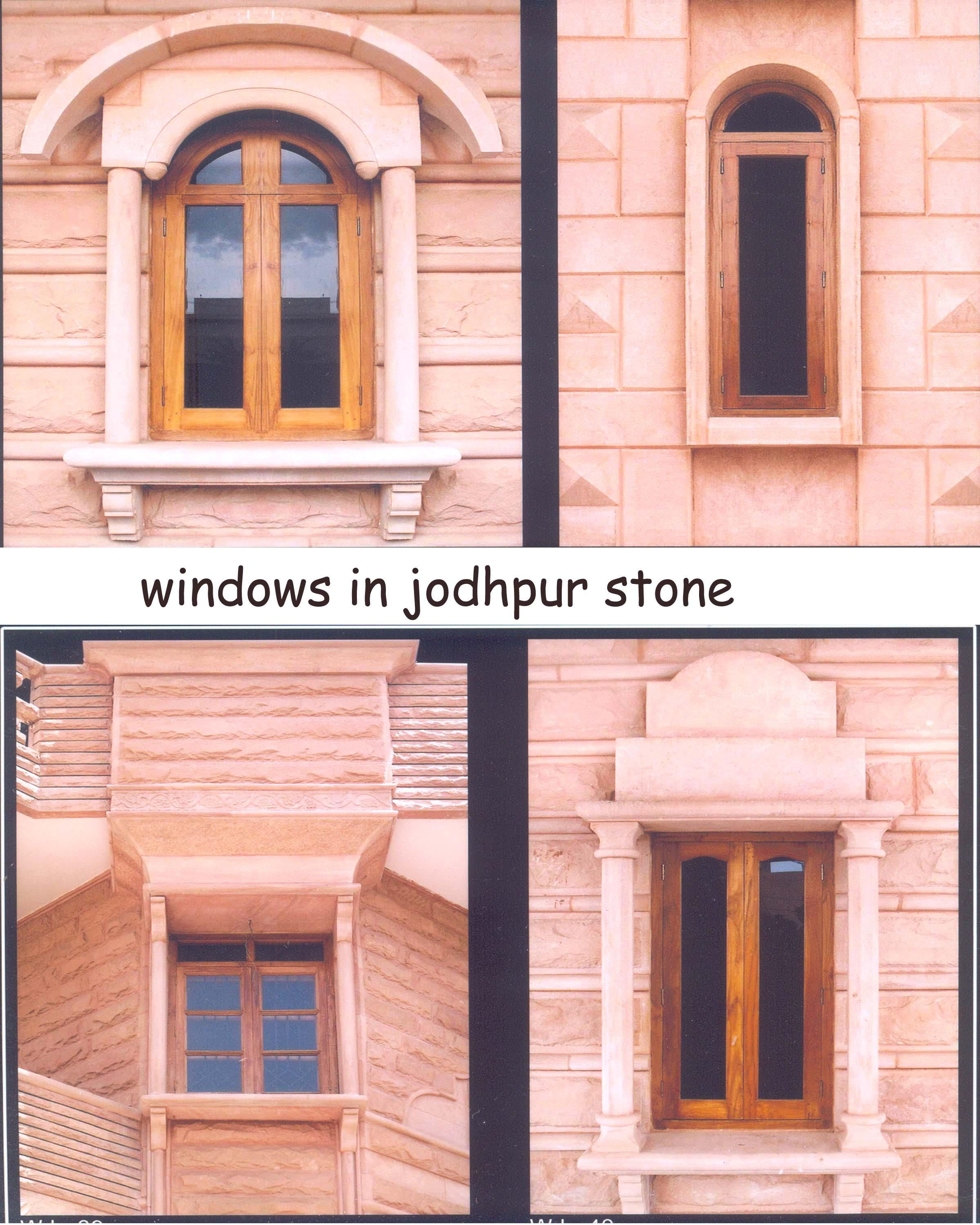 Front Window Elevation Design : Window frame gharexpert