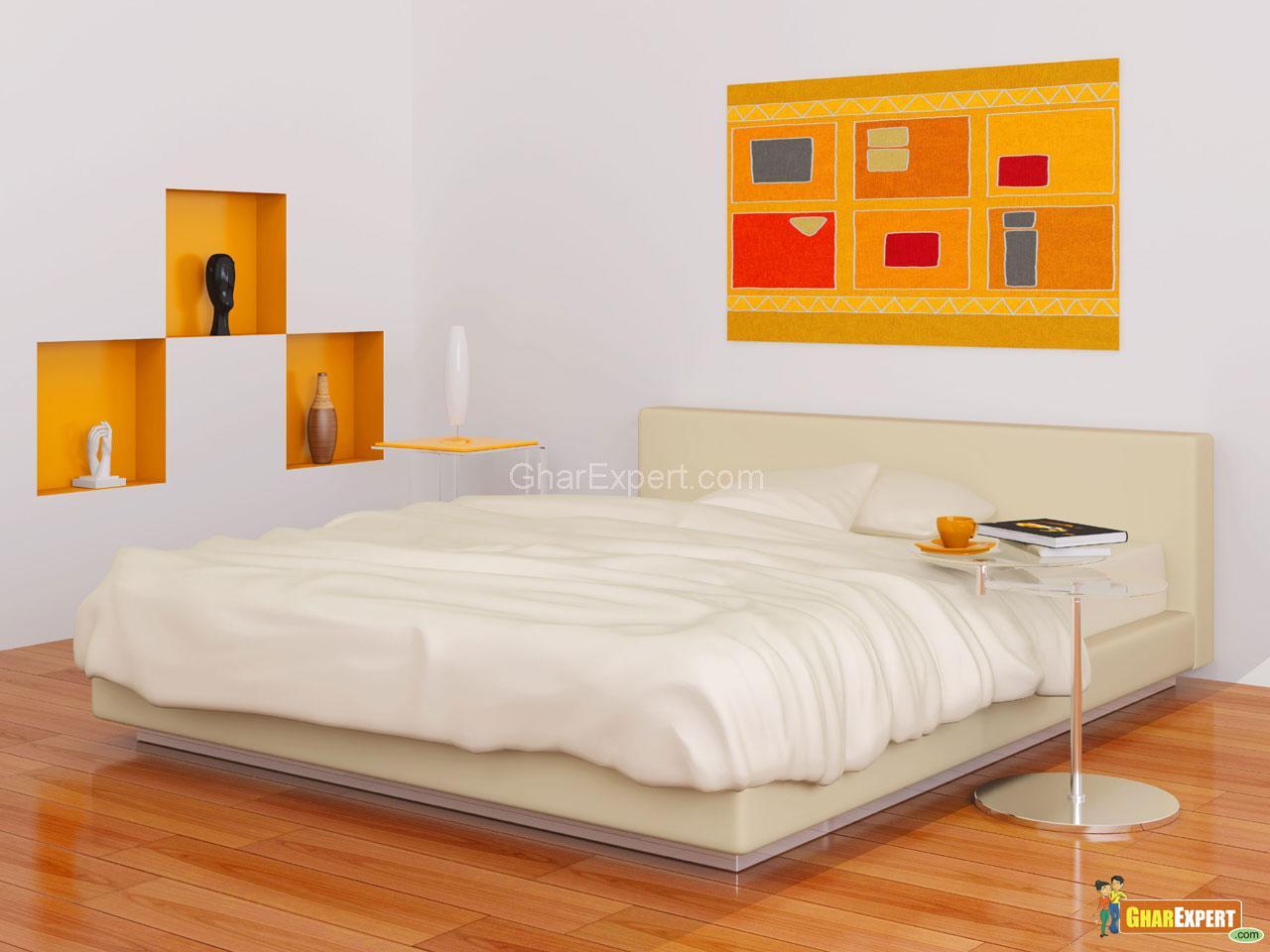 Simple Bedroom Modern small bedroom paint