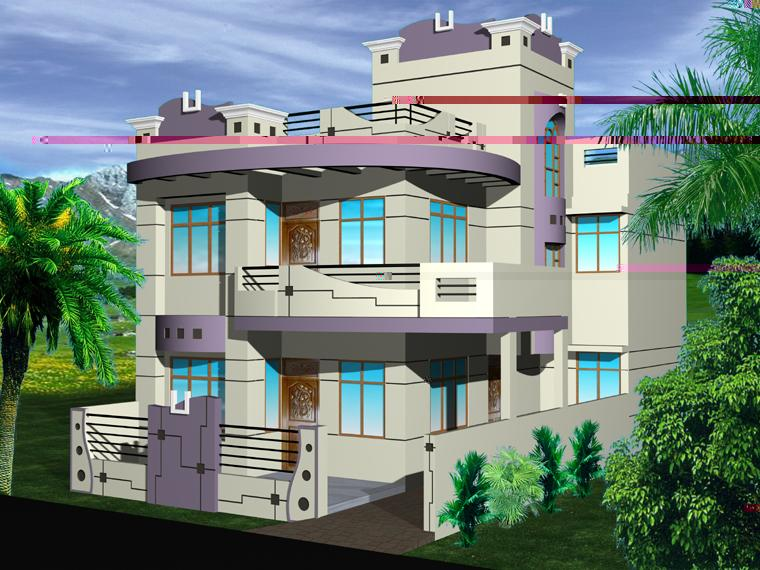 3d Exterior Picture - GharExpert on house drawing, house diagram, house exterior, house print, house cutout, house layout, house interiors, house desings, house logo, house designing, house paint, house map, house rooms, house schematics, house style, house plans, house blueprints, house template, house types, house color,