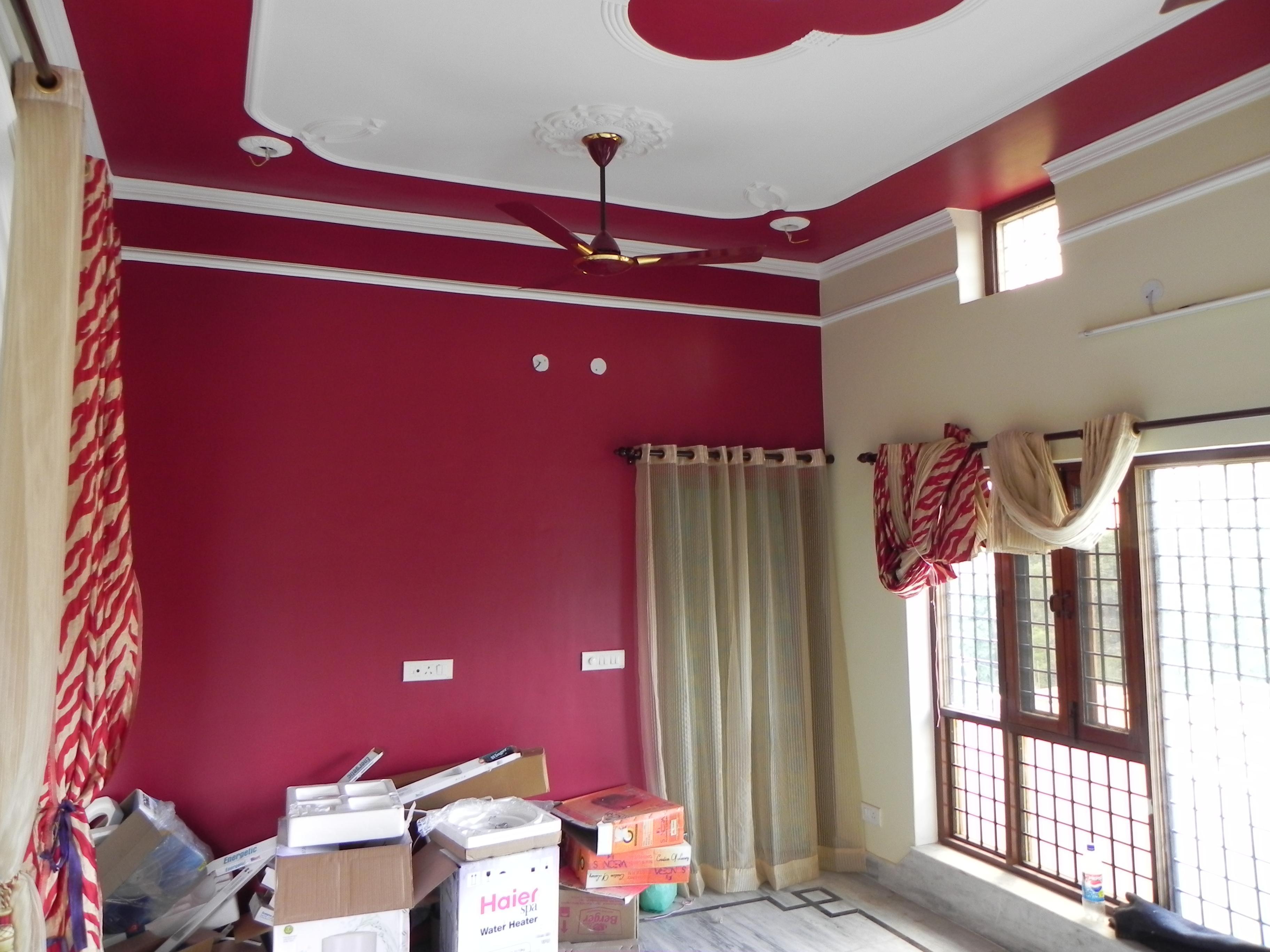 Dark Colour Choice For Room Decor Gharexpert