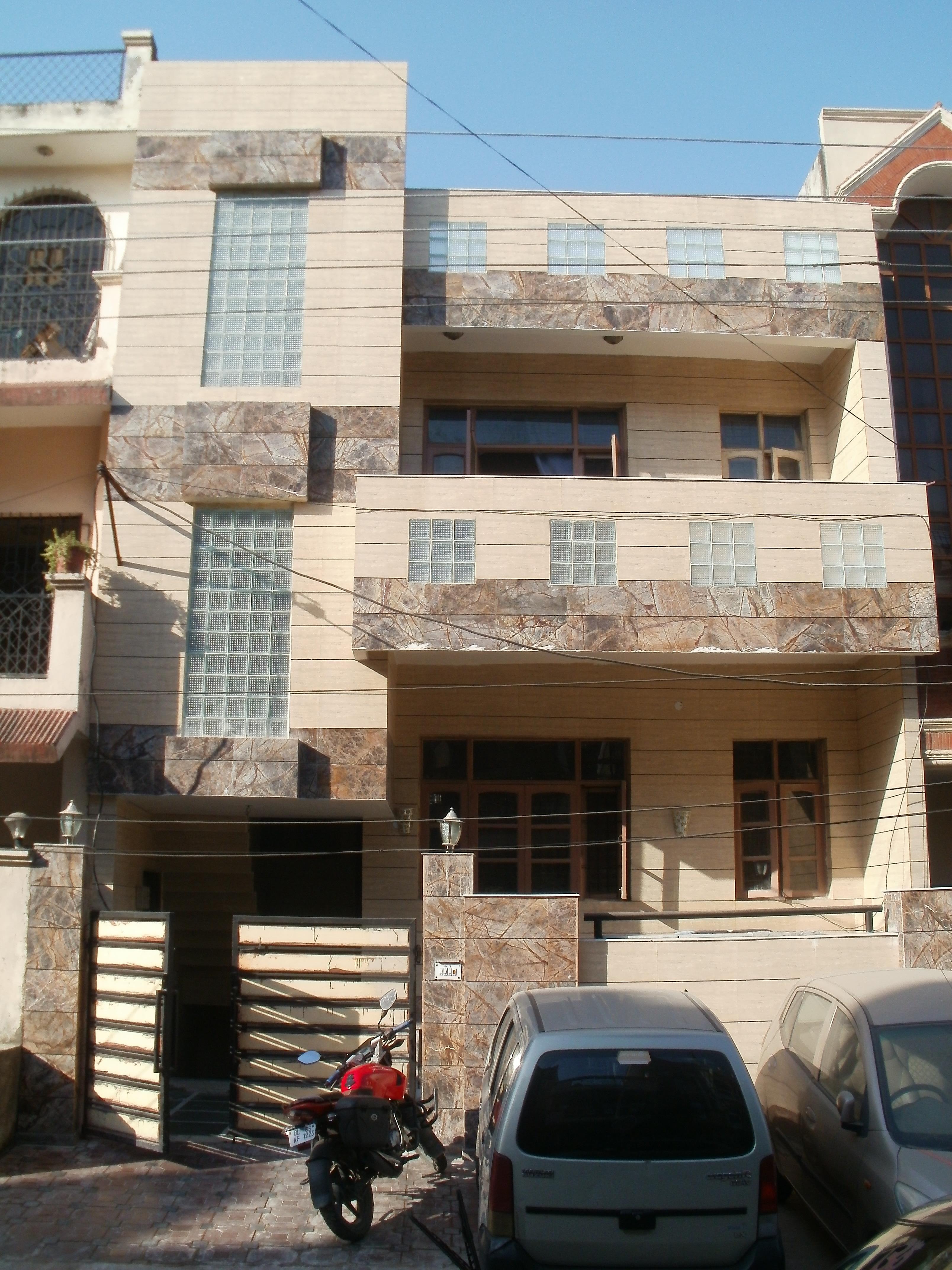 Exterior Tiles GharExpert