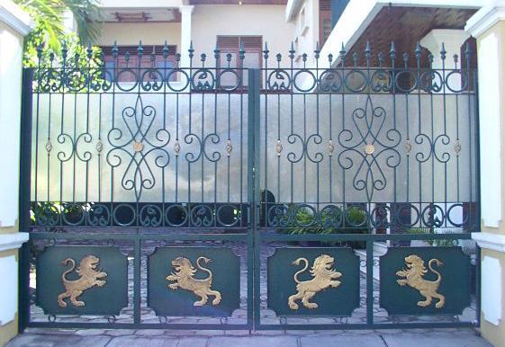 Exterior gate design gharexpert for Door new dizain