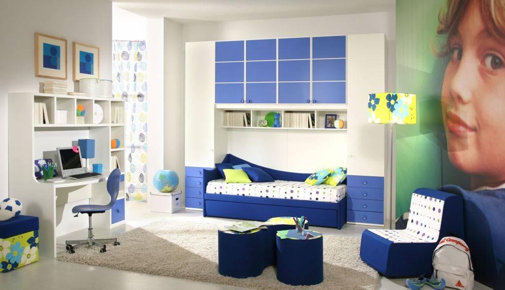 Kids room interior bed flooring wardrobe design GharExpert