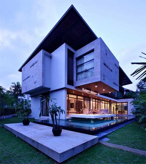 Residential Building Exterior ....
