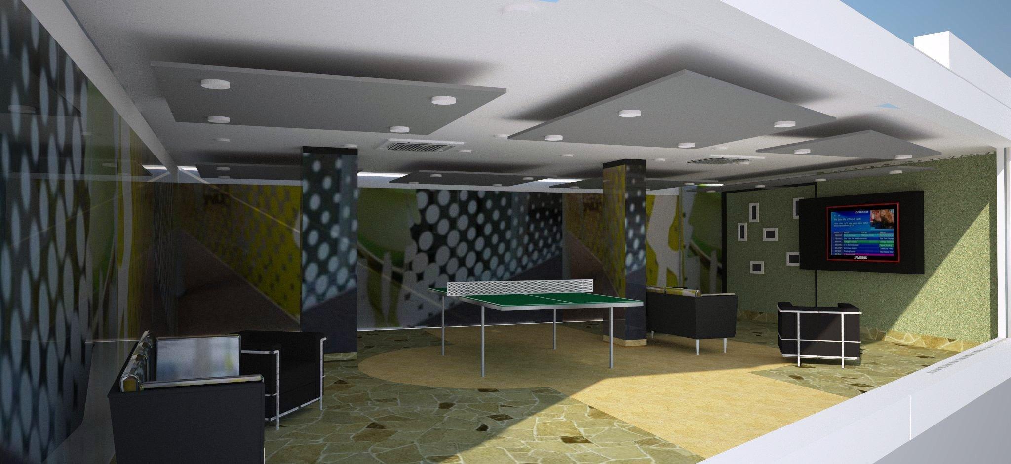 office recreational area