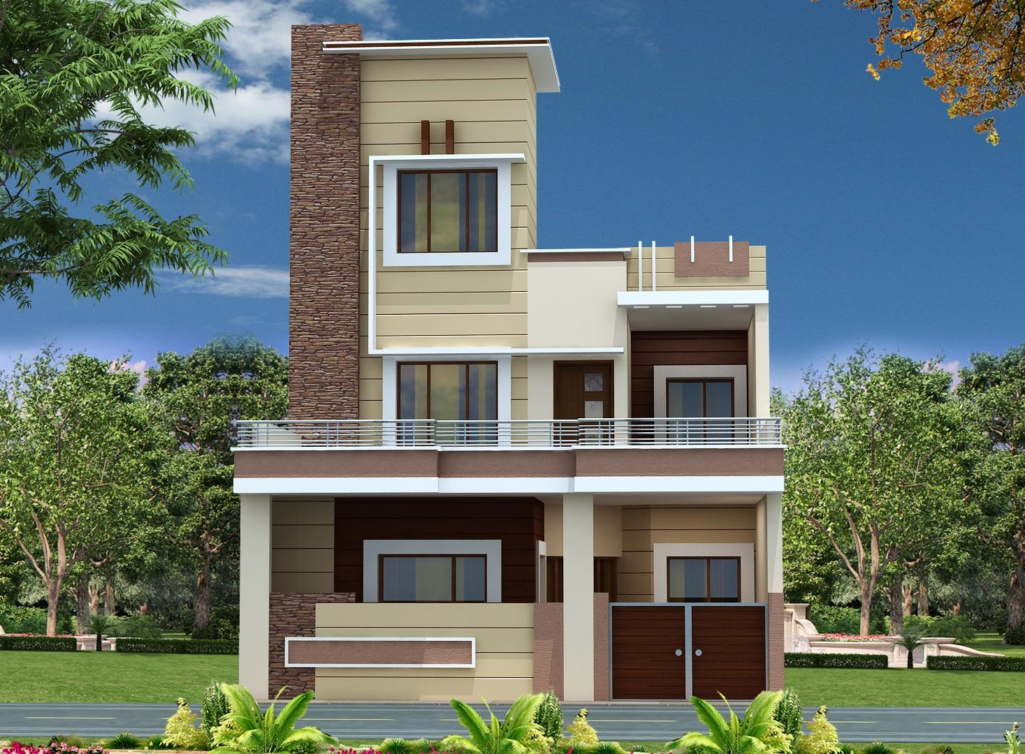 My new project gharexpert Home naksa