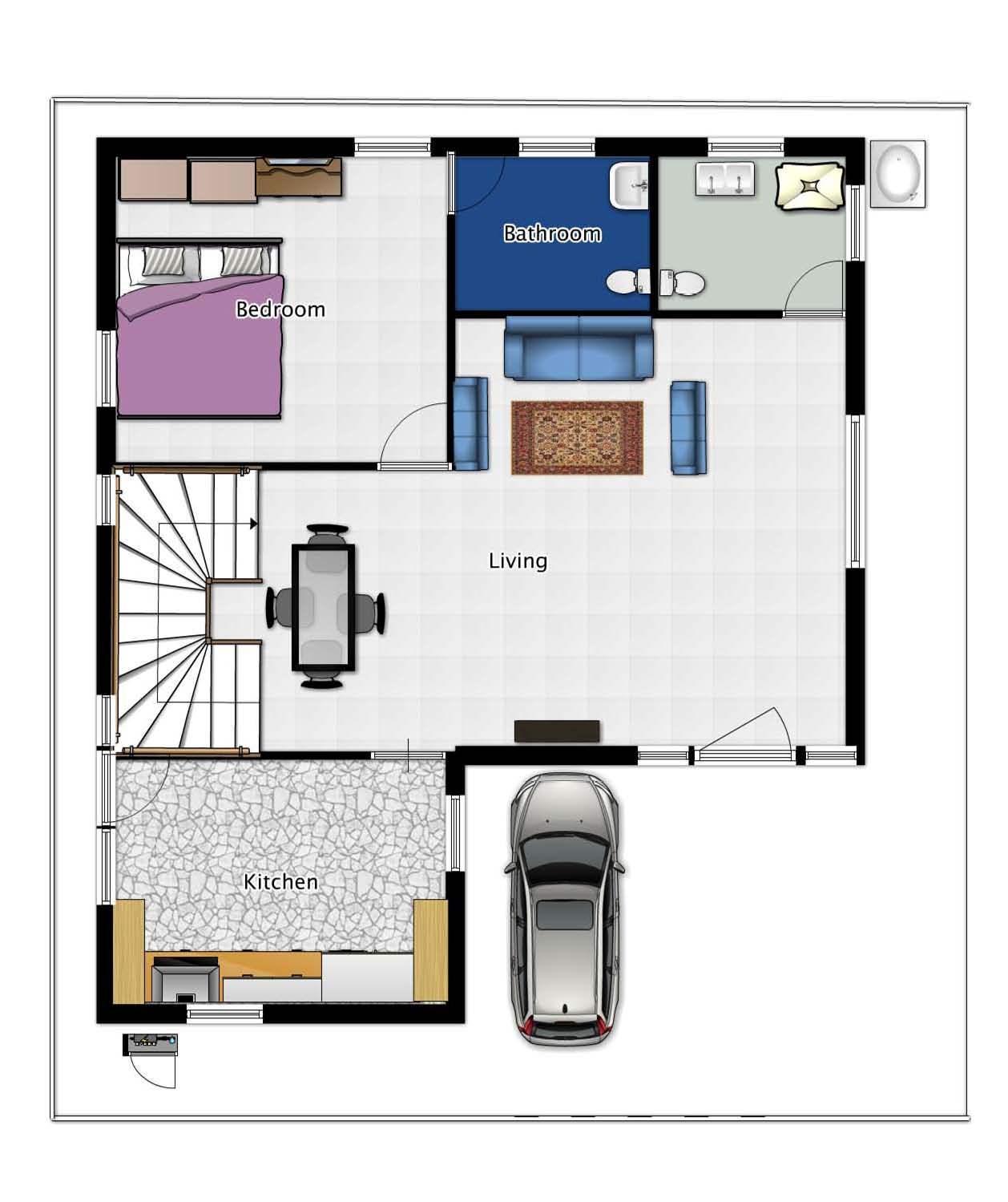 Ground Floor Planing of Duplex....