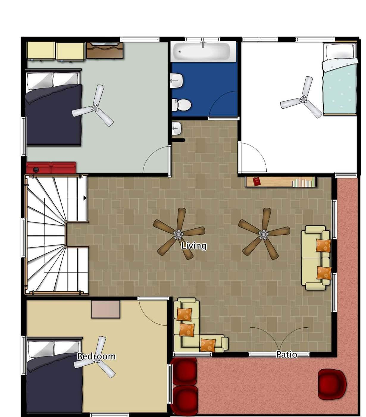 First Floor Planning Of Duplex....