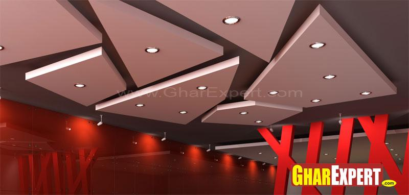 Fine Modern Ceiling Design Gharexpert Largest Home Design Picture Inspirations Pitcheantrous