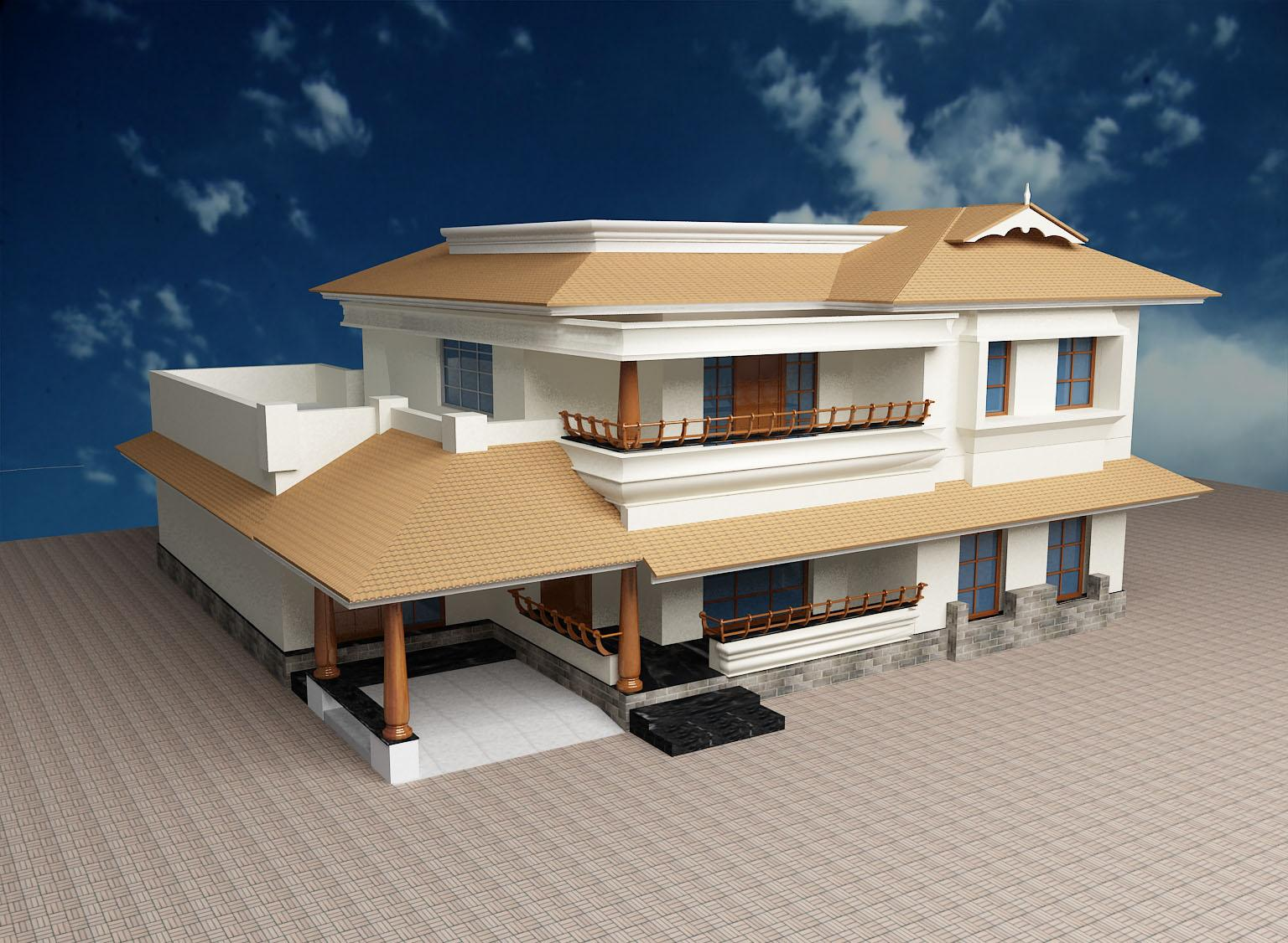 Stunning Kerala House Elevation 1536 x 1126 · 229 kB · jpeg