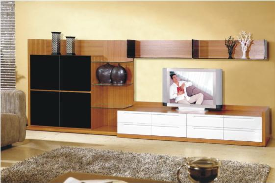 wall unit lcd unit design