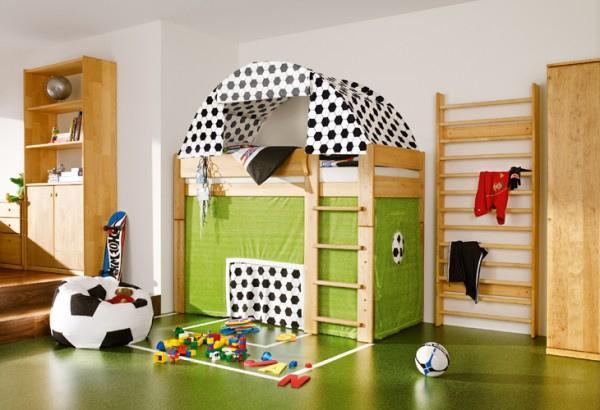 Green Themed Kids Room Floorin....