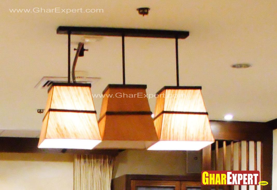 3 lamp shades for ceiling in l....