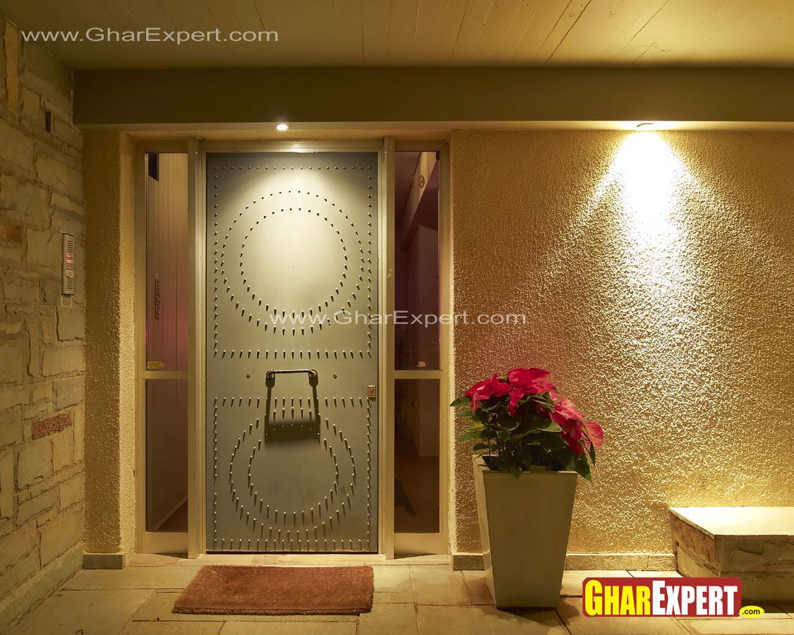 Iron door for main entrance
